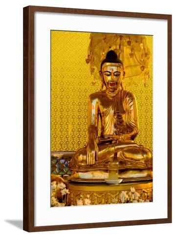 Kyaik Than Lan Pagoda, Mawlamyine (Moulmein), Myanmar (Burma), Asia-Nathalie Cuvelier-Framed Art Print