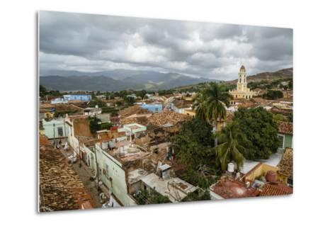 An Elevated View of the Terracotta Roofs and the Bell Tower of the Museo Nacional De La Lucha-Yadid Levy-Metal Print