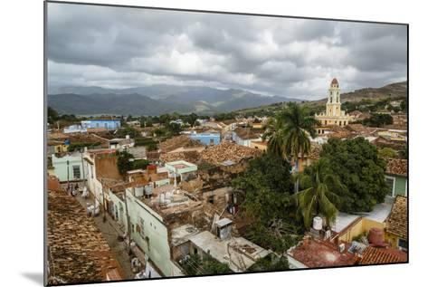 An Elevated View of the Terracotta Roofs and the Bell Tower of the Museo Nacional De La Lucha-Yadid Levy-Mounted Photographic Print
