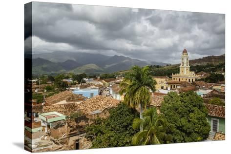 An Elevated View of the Terracotta Roofs and the Bell Tower of the Museo Nacional De La Lucha-Yadid Levy-Stretched Canvas Print