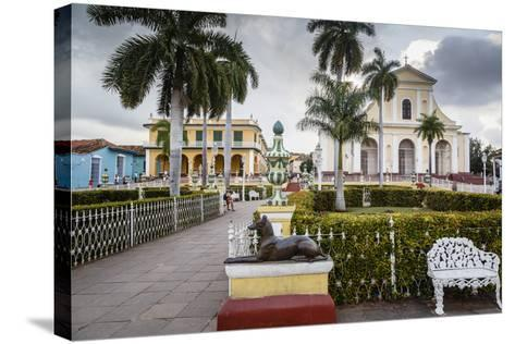 Plaza Mayor, Trinidad, UNESCO World Heritage Site, Sancti Spiritus Province, Cuba-Yadid Levy-Stretched Canvas Print
