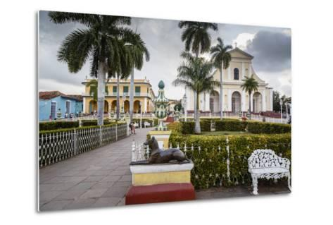 Plaza Mayor, Trinidad, UNESCO World Heritage Site, Sancti Spiritus Province, Cuba-Yadid Levy-Metal Print