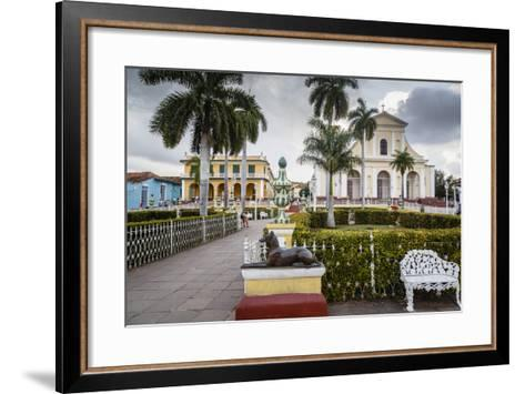 Plaza Mayor, Trinidad, UNESCO World Heritage Site, Sancti Spiritus Province, Cuba-Yadid Levy-Framed Art Print