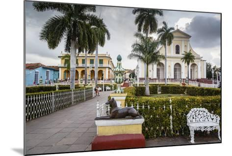 Plaza Mayor, Trinidad, UNESCO World Heritage Site, Sancti Spiritus Province, Cuba-Yadid Levy-Mounted Photographic Print