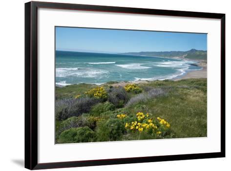 View of Jalama Beach County Park, Near Lompoc, California, United States of America, North America-Ethel Davies-Framed Art Print