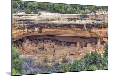 Anasazi Ruins, Cliff Palace, Dating from Between 600 Ad and 1300 Ad-Richard Maschmeyer-Mounted Photographic Print