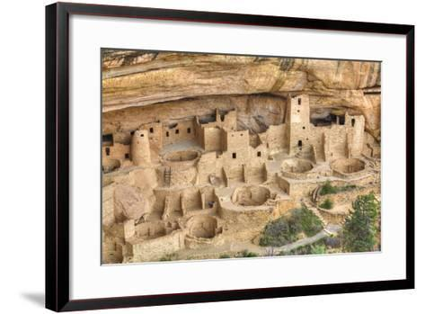 Anasazi Ruins, Cliff Palace, Dating from Between 600 Ad and 1300 Ad-Richard Maschmeyer-Framed Art Print