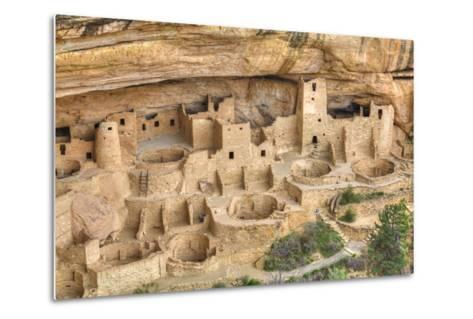 Anasazi Ruins, Cliff Palace, Dating from Between 600 Ad and 1300 Ad-Richard Maschmeyer-Metal Print