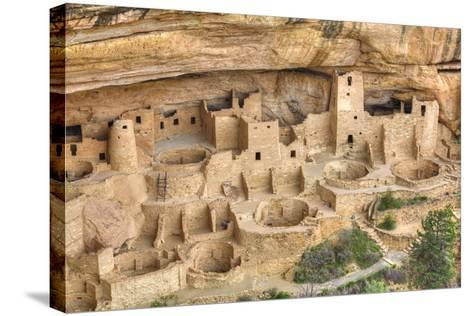 Anasazi Ruins, Cliff Palace, Dating from Between 600 Ad and 1300 Ad-Richard Maschmeyer-Stretched Canvas Print
