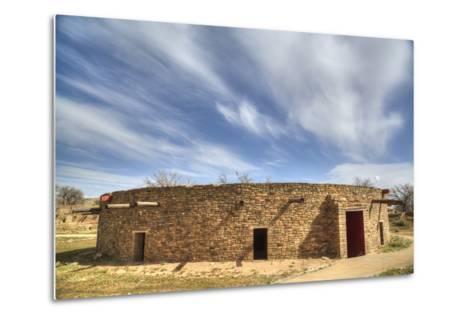 The Great Kiva, Aztec Ruins National Monument, UNESCO World Heritage Site-Richard Maschmeyer-Metal Print