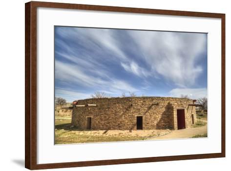 The Great Kiva, Aztec Ruins National Monument, UNESCO World Heritage Site-Richard Maschmeyer-Framed Art Print