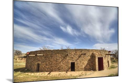 The Great Kiva, Aztec Ruins National Monument, UNESCO World Heritage Site-Richard Maschmeyer-Mounted Photographic Print