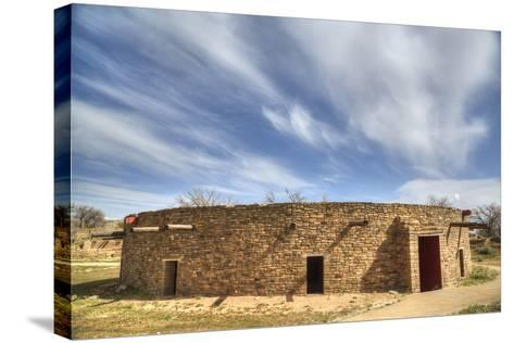 The Great Kiva, Aztec Ruins National Monument, UNESCO World Heritage Site-Richard Maschmeyer-Stretched Canvas Print