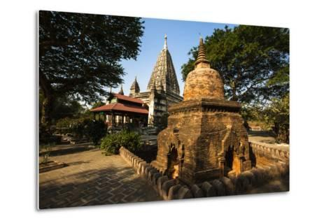 The Mahabodhi Temple, a Buddhist Temple Built in the Mid-13th Century, Located in Bagan (Pagan)-Thomas L-Metal Print