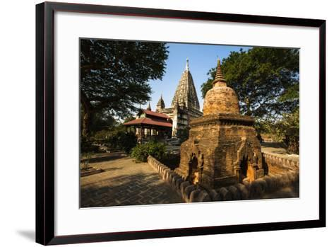 The Mahabodhi Temple, a Buddhist Temple Built in the Mid-13th Century, Located in Bagan (Pagan)-Thomas L-Framed Art Print