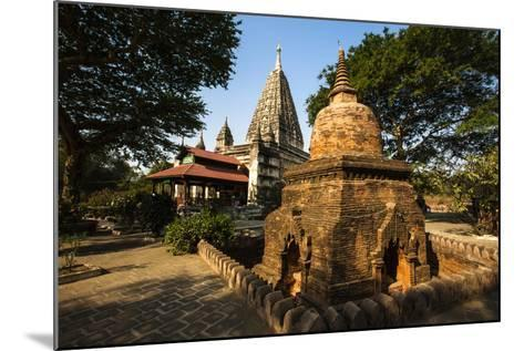 The Mahabodhi Temple, a Buddhist Temple Built in the Mid-13th Century, Located in Bagan (Pagan)-Thomas L-Mounted Photographic Print