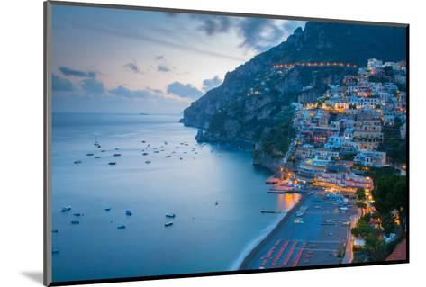 View over Positano, Costiera Amalfitana (Amalfi Coast), UNESCO World Heritage Site-Frank Fell-Mounted Photographic Print