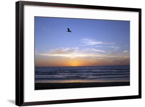 Sunset over La Jolla Coast, California, United States of America, North America-Thomas L-Framed Art Print