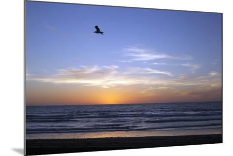 Sunset over La Jolla Coast, California, United States of America, North America-Thomas L-Mounted Photographic Print