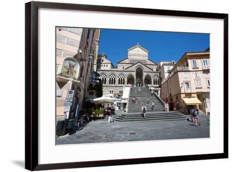 Piazza Duomo, Duomo Di Amalfi, Amalfi-Frank Fell-Framed Art Print