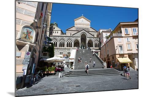 Piazza Duomo, Duomo Di Amalfi, Amalfi-Frank Fell-Mounted Photographic Print