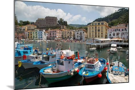 Marina Grande, Sorrento, Costiera Amalfitana (Amalfi Coast), UNESCO World Heritage Site, Campania-Frank Fell-Mounted Photographic Print