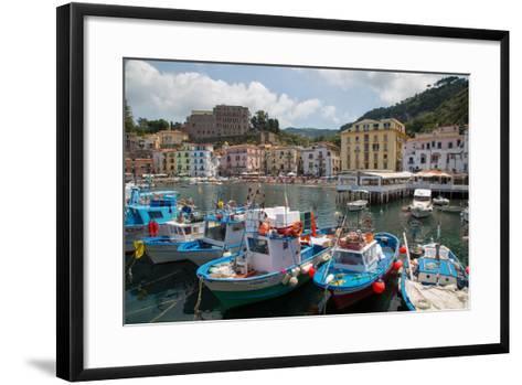Marina Grande, Sorrento, Costiera Amalfitana (Amalfi Coast), UNESCO World Heritage Site, Campania-Frank Fell-Framed Art Print