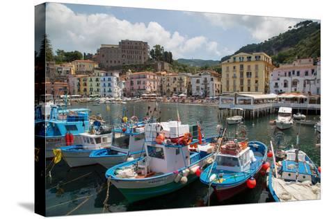 Marina Grande, Sorrento, Costiera Amalfitana (Amalfi Coast), UNESCO World Heritage Site, Campania-Frank Fell-Stretched Canvas Print