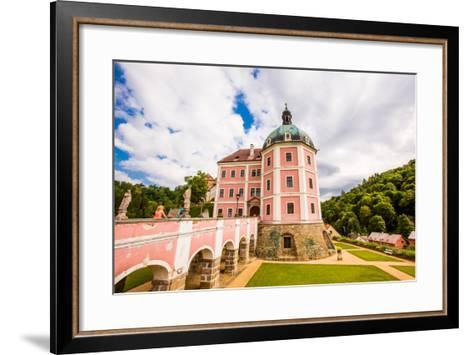 Becov Castle in Karlovy Vary, Bohemia, Czech Republic, Europe-Laura Grier-Framed Art Print