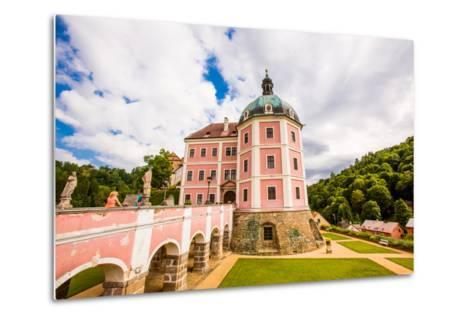 Becov Castle in Karlovy Vary, Bohemia, Czech Republic, Europe-Laura Grier-Metal Print