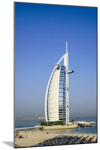 Burj Al Arab Hotel, Iconic Dubai Landmark, Jumeirah Beach, Dubai, United Arab Emirates, Middle East-Fraser Hall-Mounted Photographic Print
