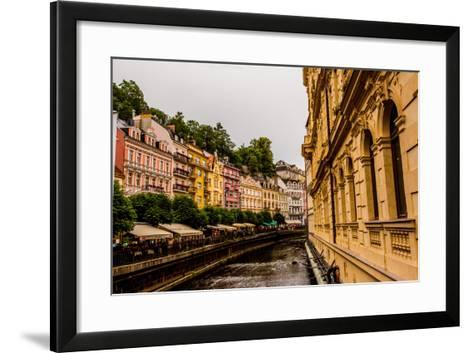 The Village of Karlovy Vary, Bohemia, Czech Republic, Europe-Laura Grier-Framed Art Print
