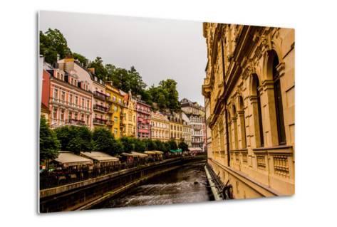 The Village of Karlovy Vary, Bohemia, Czech Republic, Europe-Laura Grier-Metal Print