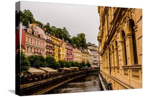 The Village of Karlovy Vary, Bohemia, Czech Republic, Europe-Laura Grier-Stretched Canvas Print
