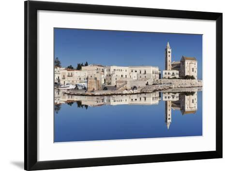 San Nicola Pellegrino Cathedral, Old Town, Trani, Le Murge, Barletta-Andria-Trani District-Markus Lange-Framed Art Print