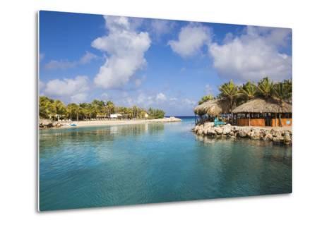Hemingway Beach Beach Bar and Grill, Willemstad, Curacao, West Indies, Lesser Antilles-Jane Sweeney-Metal Print