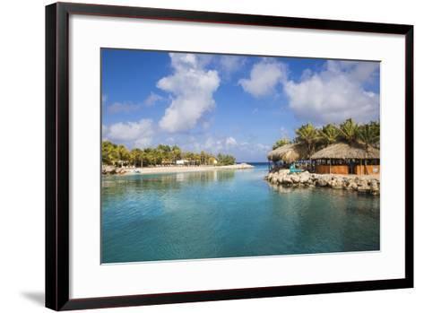 Hemingway Beach Beach Bar and Grill, Willemstad, Curacao, West Indies, Lesser Antilles-Jane Sweeney-Framed Art Print