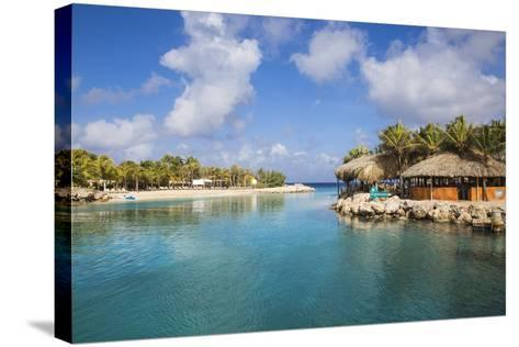 Hemingway Beach Beach Bar and Grill, Willemstad, Curacao, West Indies, Lesser Antilles-Jane Sweeney-Stretched Canvas Print