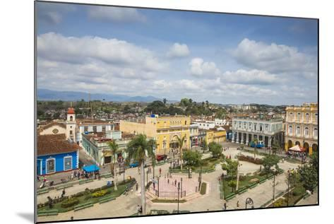 View of Parque Serafin Sanchez, the Main Square, Surrounded by Neoclassical Buildings-Jane Sweeney-Mounted Photographic Print