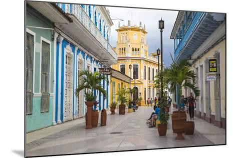 Calle Independencia Sur, Pedestrian Shopping Street, Leading to Colonia Espanola Building-Jane Sweeney-Mounted Photographic Print