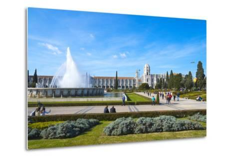 Mosteiro Dos Jeronimos (Monastery of the Hieronymites), UNESCO World Heritage Site, Belem-G&M Therin-Weise-Metal Print