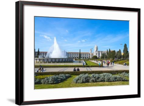 Mosteiro Dos Jeronimos (Monastery of the Hieronymites), UNESCO World Heritage Site, Belem-G&M Therin-Weise-Framed Art Print
