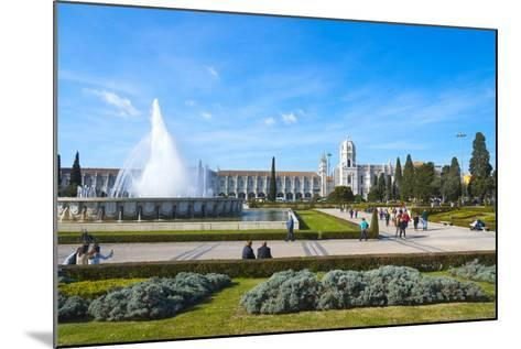 Mosteiro Dos Jeronimos (Monastery of the Hieronymites), UNESCO World Heritage Site, Belem-G&M Therin-Weise-Mounted Photographic Print