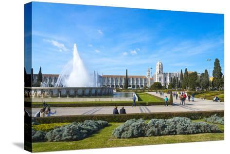 Mosteiro Dos Jeronimos (Monastery of the Hieronymites), UNESCO World Heritage Site, Belem-G&M Therin-Weise-Stretched Canvas Print