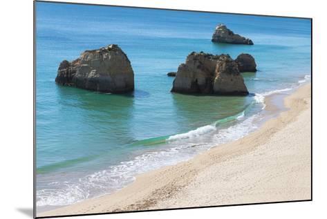 Praia Dos Tres Castelos, Portimao, Algarve, Portugal, Europe-G&M Therin-Weise-Mounted Photographic Print