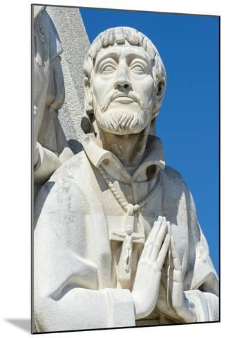 Detail of the Statues, Padrao Dos Descobrimentos (Monument to the Discoveries), Belem-G&M Therin-Weise-Mounted Photographic Print