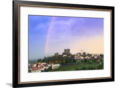 Braganca Castle, Tras-Os-Montes, Portugal, Europe-Alex Robinson-Framed Art Print