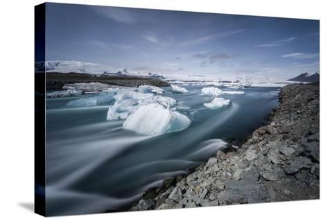Jokulsarlon, Iceland, Polar Regions-Bill Ward-Stretched Canvas Print