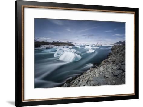 Jokulsarlon, Iceland, Polar Regions-Bill Ward-Framed Art Print