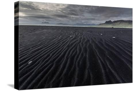 Reynisfjara, Vik, Iceland, Polar Regions-Bill Ward-Stretched Canvas Print